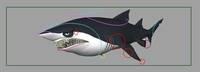 Free Shark rig for Maya 1.0.0