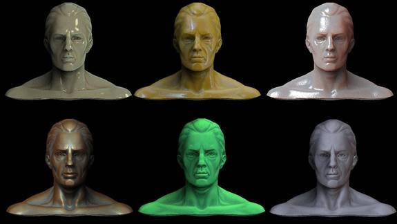 Realistic Materials for Zbrush - Free Materials Downloads