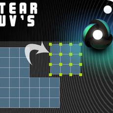 Tear UV's for Maya 1.0.0 (maya script)