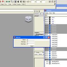 Selector.mel for Maya 1.0.0 (maya script)