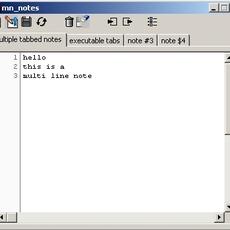 mn_notes for Maya 1.1.1 (maya script)