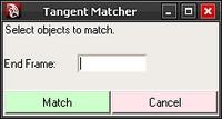 Free Tangent Matcher for Maya 1.2.0 (maya script)