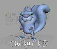Free Squirrely Rig for Maya 1.1.0