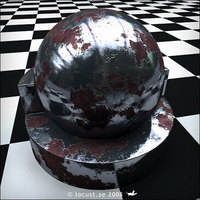 Free Rusty metal shader for mental ray maya for Maya 1.0.0