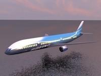 Boeing 7E7 3D Model