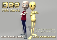 New Dee Rig for Maya 1.2.0 for Maya