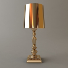 Ornate Table Lamp 2 3D Model