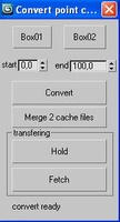 Free Plot point cache for 3dsmax 1.0.0 (3dsmax script)