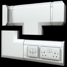 Power Trunking Set 3D Model