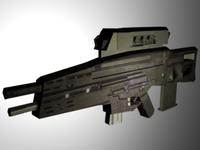HK OICW 3D Model