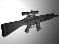 HK G33K 3D Model