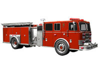 Seagrave Fire Truck 3D Model