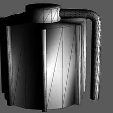 Storage Tank 3D Model
