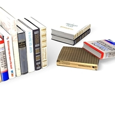 the books 3D Model