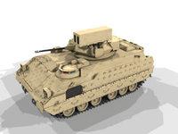 Linebacker 3D Model