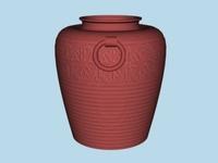 Terracota Vase 3D Model