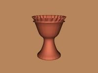 Flower Pot 3D Model