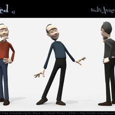Added Character Rig download sections
