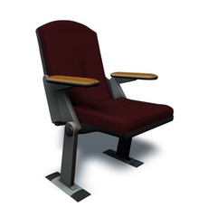 Auditorium Seat 3D Model