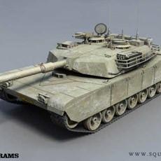 A1M1 Abrams 3D Model