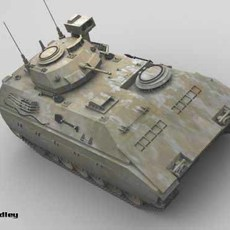 M3 bradley 3D Model
