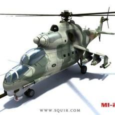 Mi-24 Hind 3D Model
