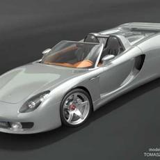 Porsche Carrera GT 3D Model