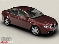 Audi A4 3D Model