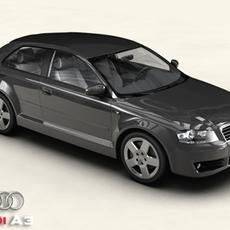 Audi A3 3D Model