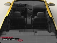 Chevrolet Monte Carlo 2004 SS 3D Model