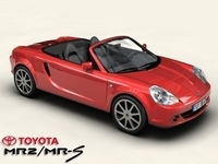 Toyota MR2/MRS 3D Model