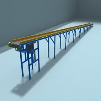 belt transport 2 3D Model