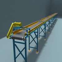 belt transport 4 3D Model