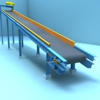 belt transport 6 3D Model