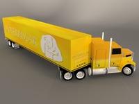 Truck liner 3D Model