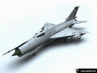 mig21 3D Model