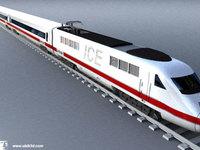 ICE - train 3D Model