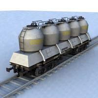wagon - 15 3D Model