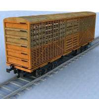 wagon - 13 3D Model