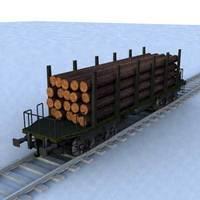 wagon - 17 3D Model