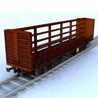wagon - 12 3D Model