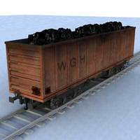 wagon - 11 3D Model