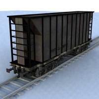 wagon - 10 3D Model