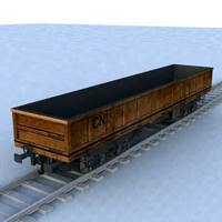 wagon - 09 3D Model