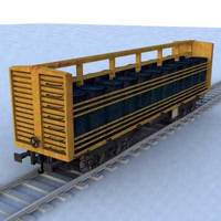 wagon - 04 3D Model