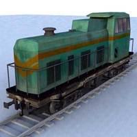 train - 03 3D Model