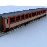 wagon - 01 3D Model