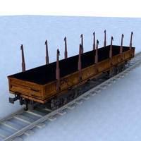 wagon - 19 3D Model