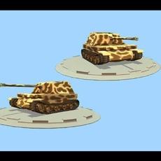Elefant Tank 3D Model
