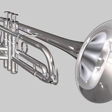 Trumpet -- Yamaha 6310Z 3D Model
